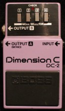 Boss DC-2 Digital Dimension Gitarrenverleih München Effekte