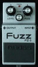 Boss FZ-3 Fuzz München Vermietung Gitarren