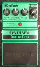 Digitech Synth wah München Effekt vermietung Gitarre Digitech