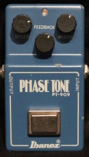Ibanez PT-909 Phase Tone Stomp Box Rental