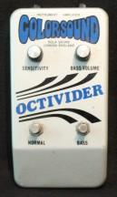 Colorsound Octivider 1974 Rentals Studio Equipment Backline Munich München Innsbruck