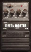 Arion SMM-1 Metal Master München Verstärker Vermietung Rental Backline Pedalboard
