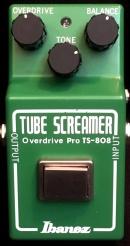 Ibanz TS808 - 35th RI Vermietung effektpedals small box tube screamer