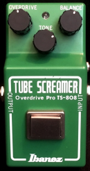 Ibanz TS808 - 35th RI Vermietung effektpedals small box tube screamer