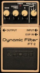 Boss FT-2 Dynamic Filter Rare Munich Rentals Collection