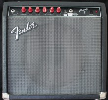 Fender Champ 12 mods KT88 New Caps Backline Stuidio rental