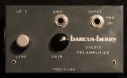 Barcus Berry Studio Preamp Pre-Amplifier NOS 1332 Studio Rental Munich Vermietung Vorverstärker Microfon