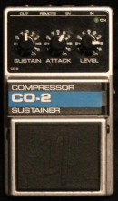 Nobels CO-2 Compressor verleih Effektpedal