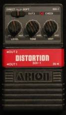Arion SDI-1 Distortion Effektpedale mieten Testen