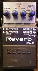 Boss RV-6 Reverb Intrument rental munich