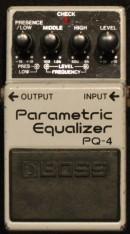 Boss PQ-4  Pedale mieten Gitarre Effekte Rental Pedalboard rare