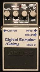 Boss DSD-2 Digital Sampler / Delay Rental pedal mieten deutschland köln