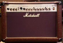 Marshall AS50D - Acoustic Rental Backline One man show Singer Songwriter