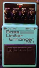 Boss LMB-3 Bass Limiter Enhancer mieten effektgeräte alle boss pedal Sammlung