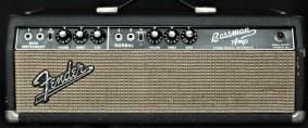 Fender Bassman  ( Blackface ) 1965 Rental Vintage Pearls Gear Germany RECAP