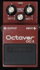 Boss OC-2 Octaver Made in Japan München