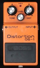 Boss DS-1 Distortion Silver Screw Verleih München