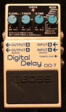 Boss DD-7 - Digital Delay Munich Amp Rentals