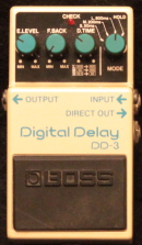 Boss DD-3 - Digital Delay Munich Amp Rentals