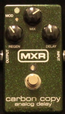 MXR Carbon Copy - Analog Delay Munich Amp Rental
