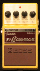 Boss FBM-1 Fender Bassmann 59  Munich Amp Rentals