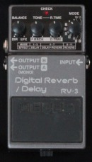 Boss RV-3 Digital Reverb / Delay München Verleih