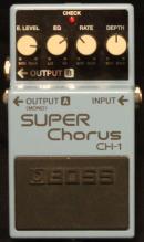 Boss CH-1 Super Chorus Munich Amp Rentals