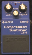 Boss CS-2 Compression Sustainer München Marshall Verleih