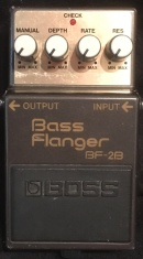 Boss BF-2B Bass Flanger Munich  Rental