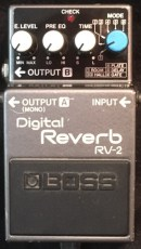 Boss RV-2 Digital Reverb Delay Munich Rental