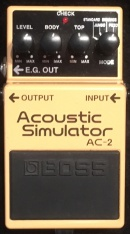 Boss Acoustic Simulator AC-2 Musikinstrumente Ankauf München