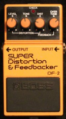 Boss DF-2 Super Distortion & Feedbacker 1984