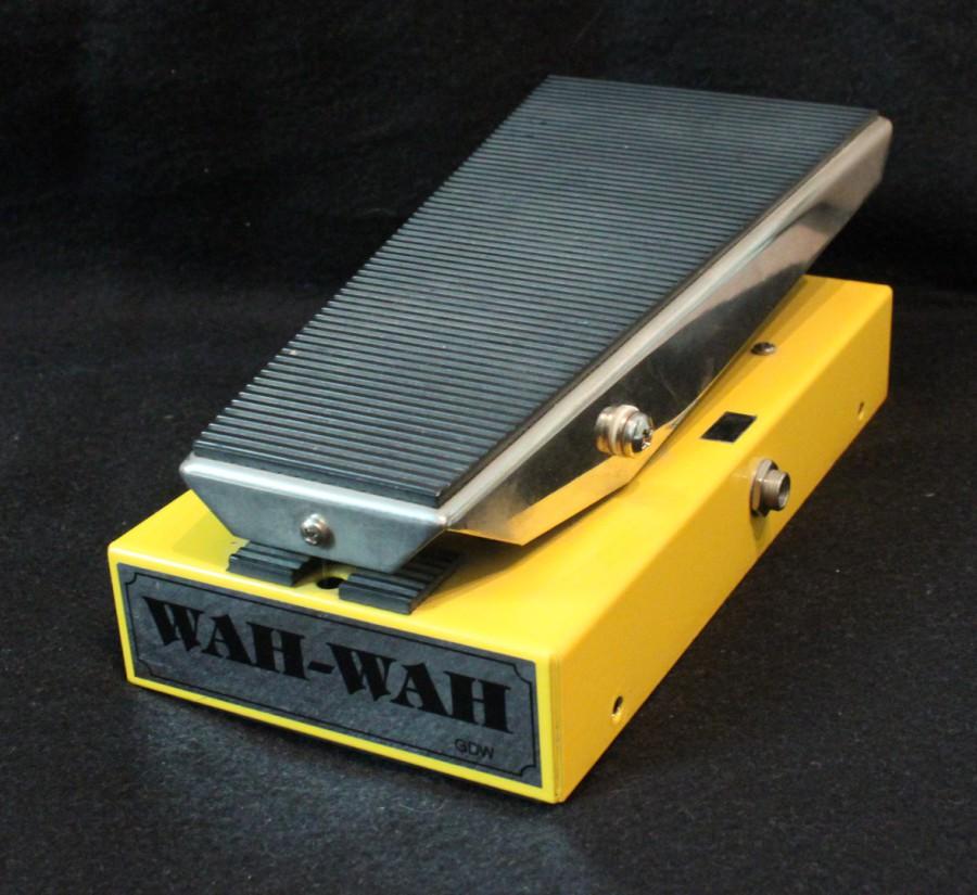 Munich Amp Rentals Wah Wah Volume